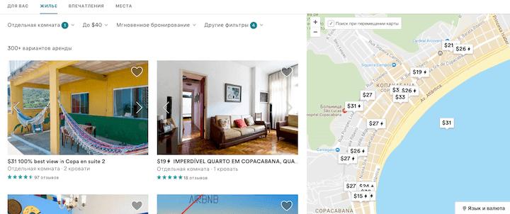 Airbnb аренда жилья по всему мирy