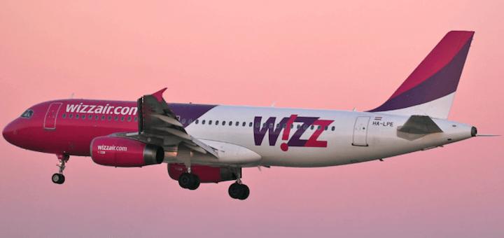 Wizz Air открывает три новых рейса из Киева и один со Львова