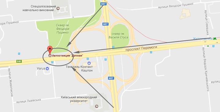 Из Житомира в Киев автостопом: как уехать на попутке