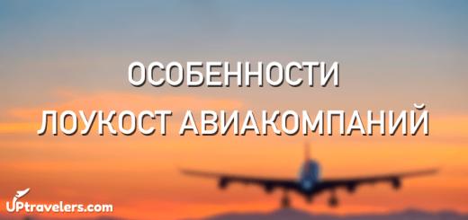 Особенности авиакомпаний-лоукостеров