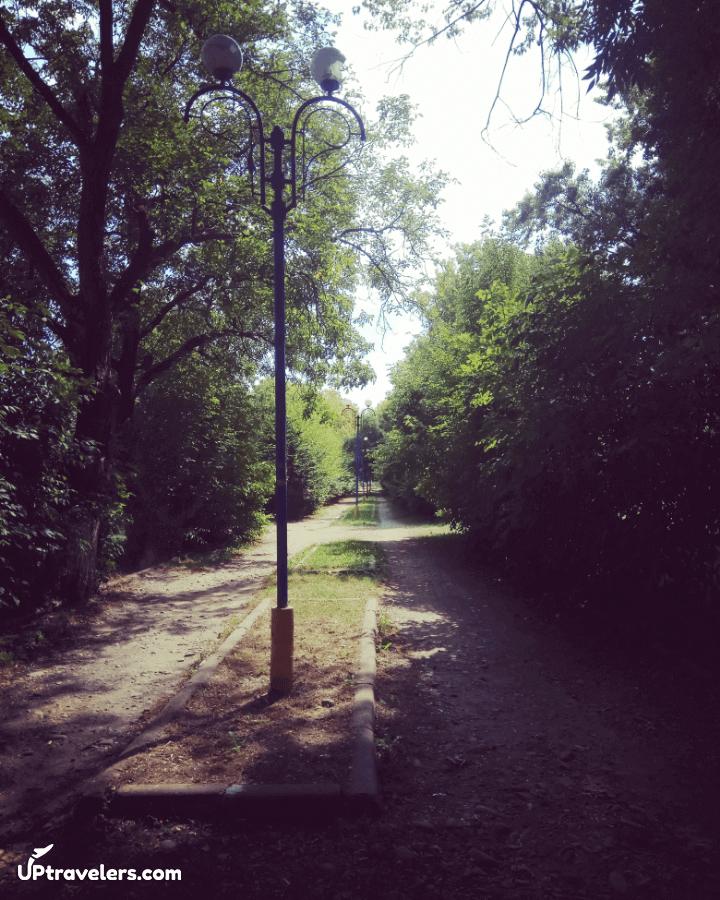 Парк в Тячево (Закарпатская область)