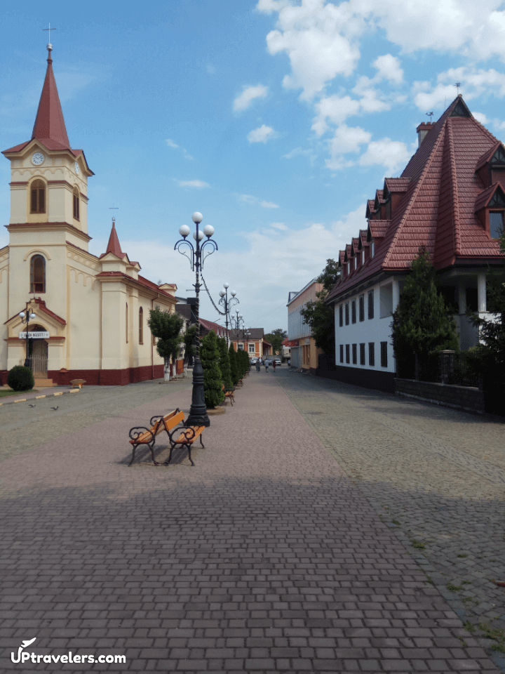 Центр города Тячево
