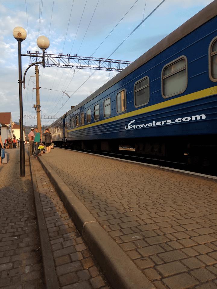 Пилипец - Воловец (автобус и потом поезд)