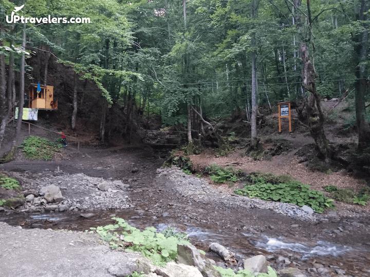 Водопад Шипот на Закарпатье (фото)