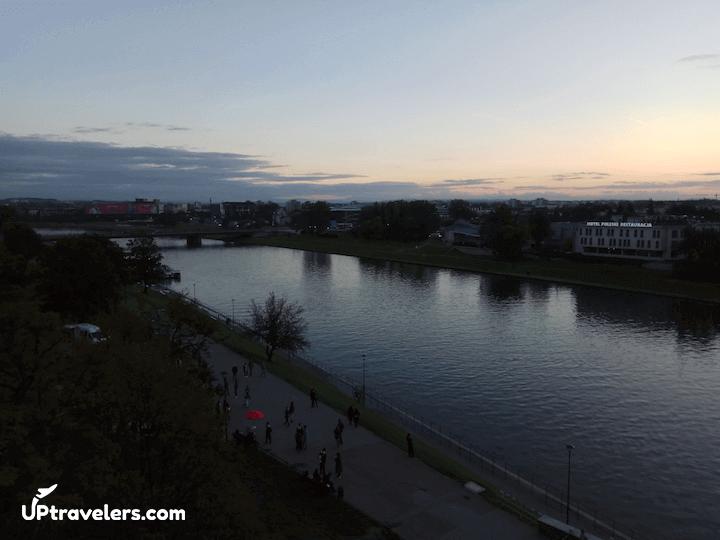 Река Висла в Кракове