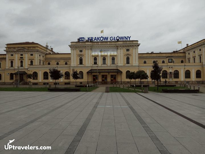 Центральный жд вокзал Кракова
