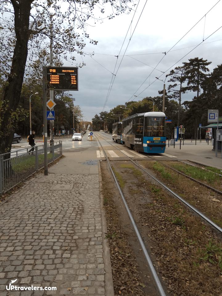 Общественный транспорт: трамвай