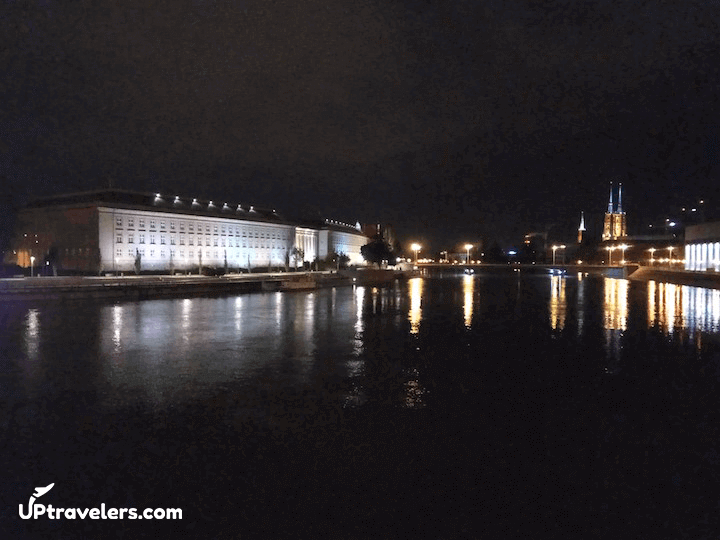 Остров Тумский и река Одра
