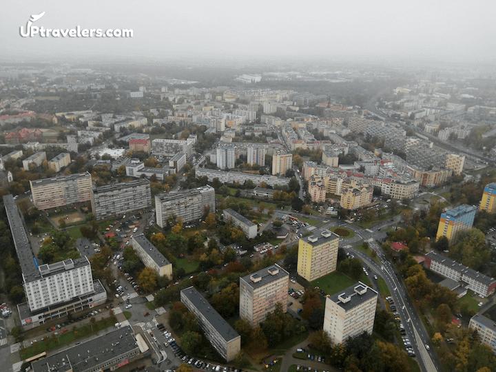 Sky Tower (Wroclaw): вид на город