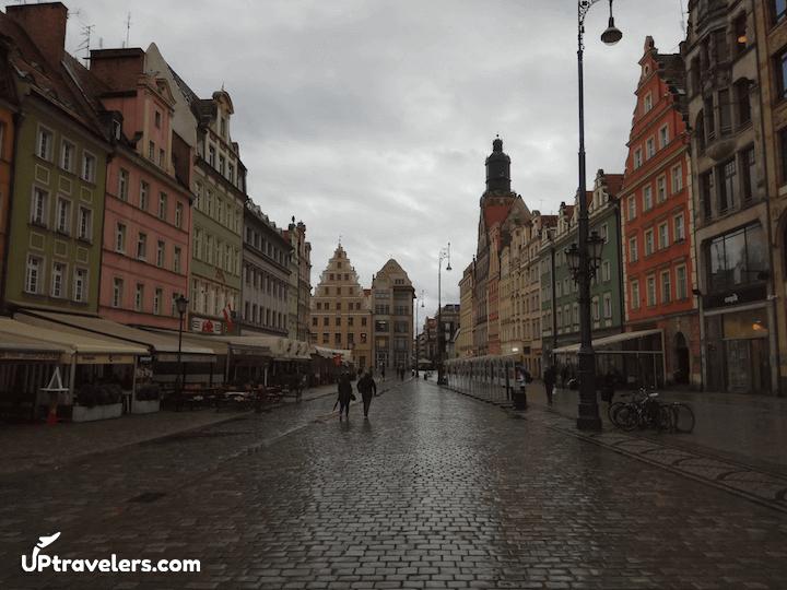 Старый город и гномы Вроцлава