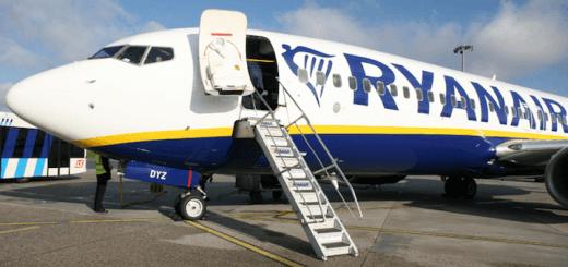 Распродажа от Ryanair: 1 000 000 билетов из Украины в Европу от 13 евро