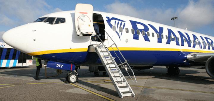 Распродажа авиабилетов в Европу из Украины от Ryanair