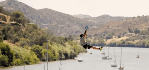 В Испании открылся уникальный Zipline, перемещающий во времени