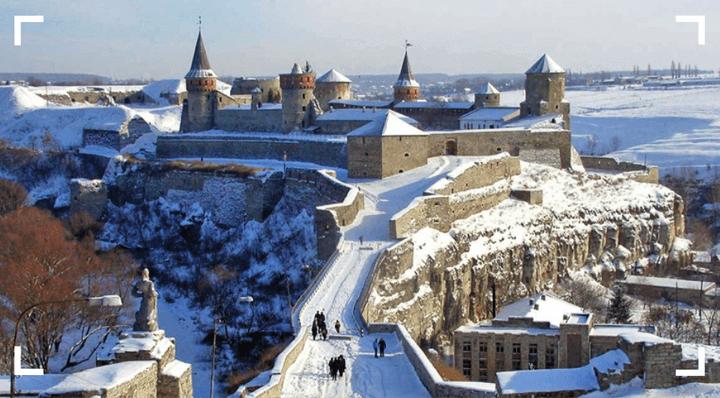 Новогодние праздники 2019 в Каменце-Подольском
