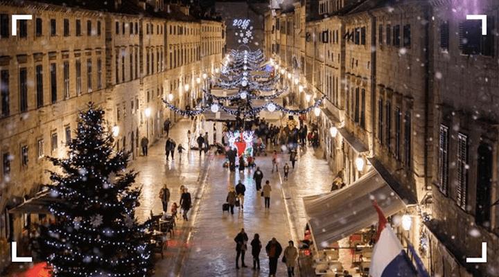 Новогодние выходные в Дубровнике