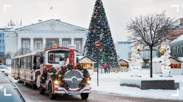 Новогодние праздники 2020 в Вильнюсе